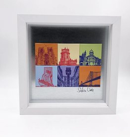 ART-DOMINO® BY SABINE WELZ MAGNETIC PICTURE LISBON MOTIF MIX 6-01