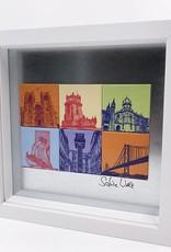 ART-DOMINO® by SABINE WELZ Lisbon - Motif Mix 6-01