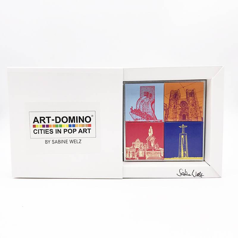 ART-DOMINO® by SABINE WELZ Lisbon - Different motives - 4 - 02