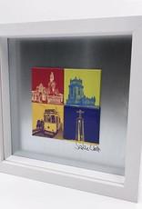 ART-DOMINO® by SABINE WELZ Lisbon - Motif Mix 4-01