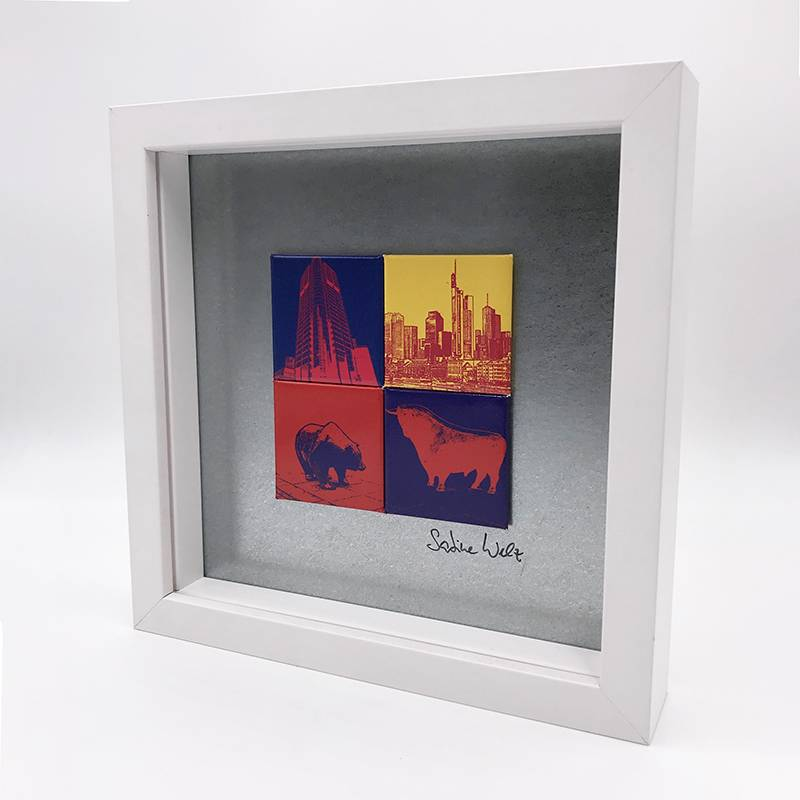 ART-DOMINO® by SABINE WELZ Frankfurt - Motif Mix 4-03