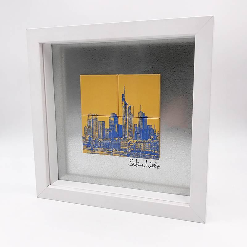ART-DOMINO® by SABINE WELZ Frankfurt – Skyline - 1