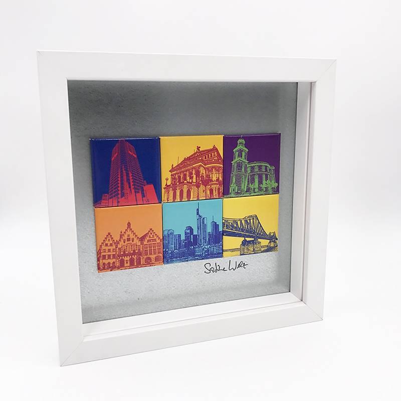 ART-DOMINO® by SABINE WELZ Frankfurt - Motif Mix 6-03