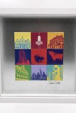 ART-DOMINO® BY SABINE WELZ Frankfurt - Motif Mix 9-01