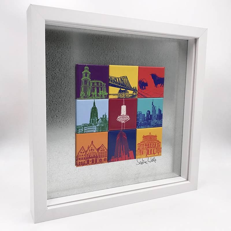 ART-DOMINO® by SABINE WELZ Frankfurt - Motif Mix 9-02