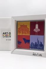 ART-DOMINO® by SABINE WELZ Frankfurt - Verschiedene Motive - 4 - 05