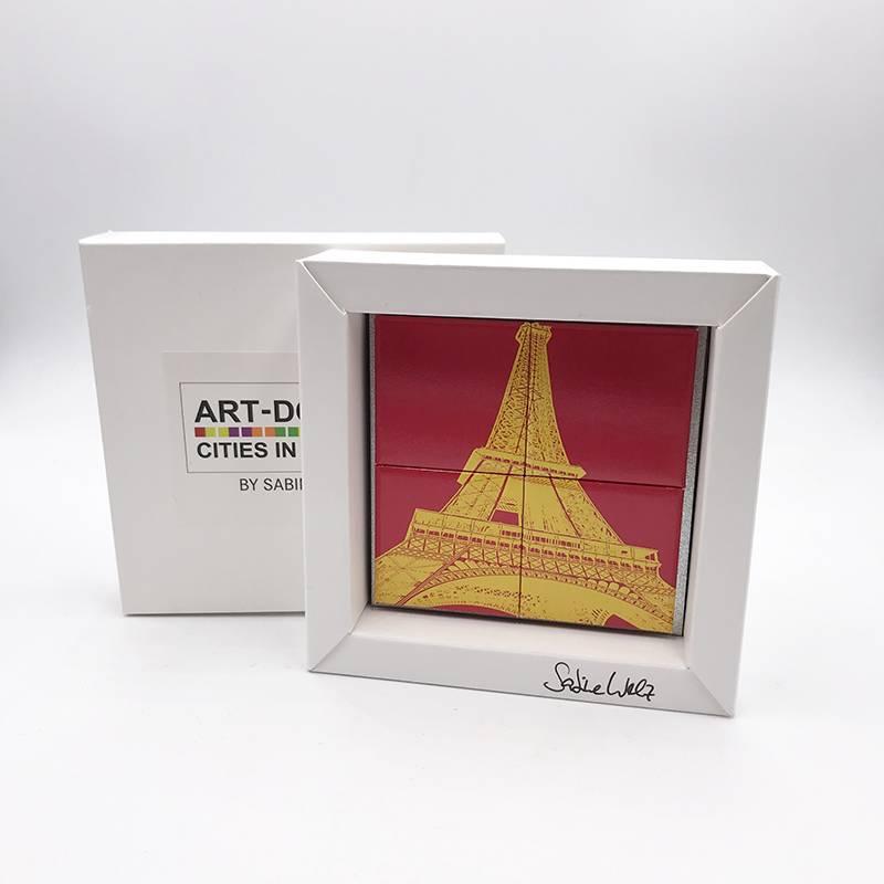 ART-DOMINO® by SABINE WELZ Paris – Eiffel Tower 1