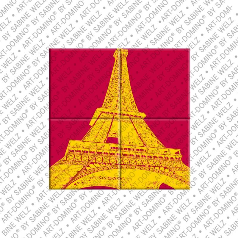 ART-DOMINO® by SABINE WELZ Paris – Eiffelturm 1