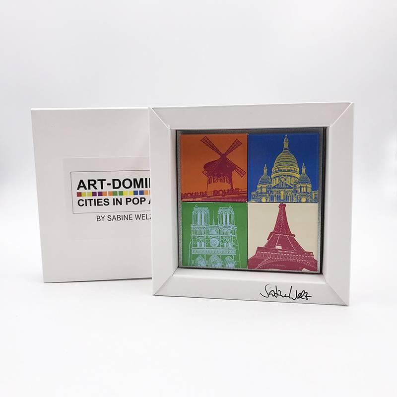 ART-DOMINO® by SABINE WELZ Paris - Different motives - 4 - 01