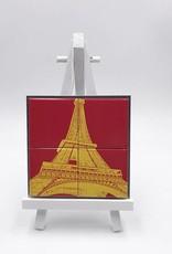 ART-DOMINO® by SABINE WELZ Paris - Eiffelturm - 01