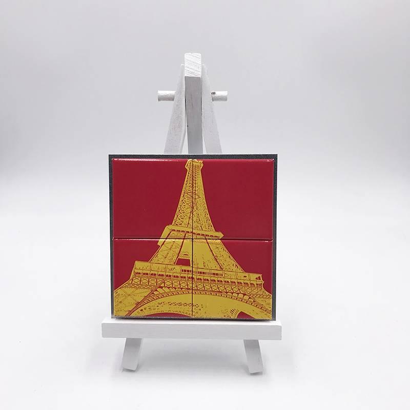 ART-DOMINO® by SABINE WELZ Paris - Eiffel Tower - 01