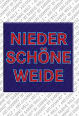ART-DOMINO® by SABINE WELZ Berlin-Nieder-Schöneweide – Schriftzug
