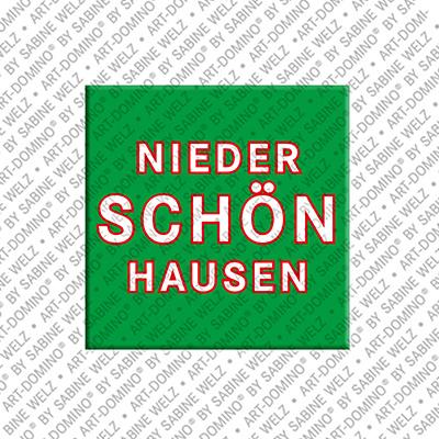 ART-DOMINO® by SABINE WELZ Berlin-Nieder-Schönhausen – Schriftzug