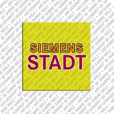 ART-DOMINO® by SABINE WELZ Berlin-Siemensstadt – Schriftzug