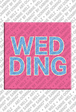 ART-DOMINO® by SABINE WELZ Berlin-Wedding – Schriftzug