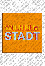 ART-DOMINO® by SABINE WELZ Berlin-Wilhelmstadt – Schriftzug