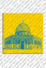 ART-DOMINO® BY SABINE WELZ Jerusalem - Felsendom