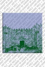 ART-DOMINO® by SABINE WELZ Jerusalem - Damaskustor