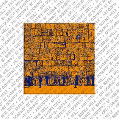 ART-DOMINO® by SABINE WELZ Jerusalem - Klagemauer