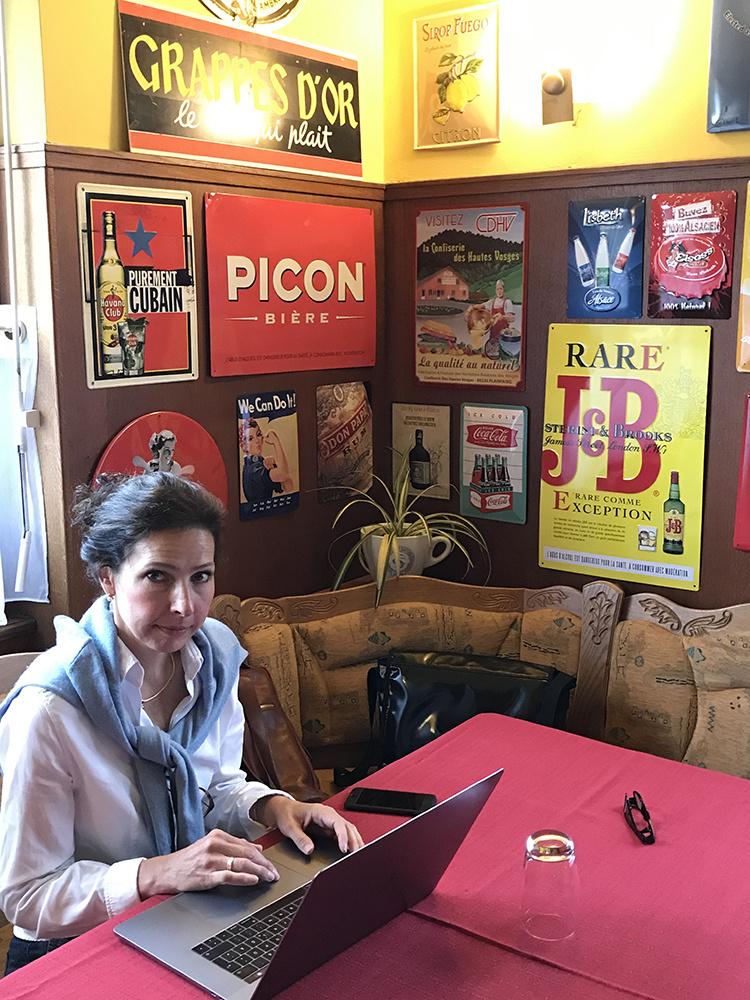 Sabine Welz in La Vancelle