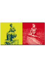 ART-DOMINO® BY SABINE WELZ Kopenhagen - Hans Chr. Andersen + Meerjungfrau