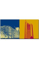 ART-DOMINO® BY SABINE WELZ Leipzig - Universität AML + Cityhochhaus