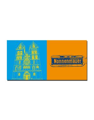 ART-DOMINO® BY SABINE WELZ Limburg - Dom + Nonnenmauer