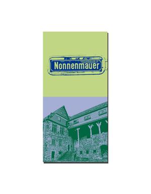 ART-DOMINO® BY SABINE WELZ Limburg - Nonnenmauer + Schloss