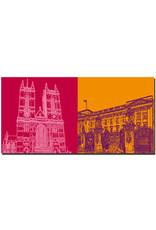 ART-DOMINO® BY SABINE WELZ London - Westminster Abbey + Buckingham Palace
