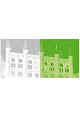 ART-DOMINO® BY SABINE WELZ Lübeck - Rathaus + Rathaus
