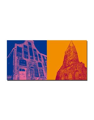 ART-DOMINO® BY SABINE WELZ Lübeck - Kolonnenhaus + St. Aegidien