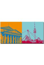 ART-DOMINO® BY SABINE WELZ München - Nationaltheater + Olympiastadion