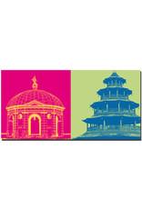 ART-DOMINO® BY SABINE WELZ München - Diana Tempel + Chinesischer Turm