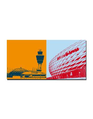 Leinwandbild München Leinwandbilder Mit Stadtmotiven