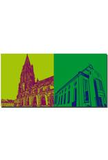 ART-DOMINO® BY SABINE WELZ Freiburg - Münsterkirche + Augustinum