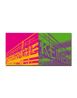 ART-DOMINO® BY SABINE WELZ Münster - Gehorche + Keinem