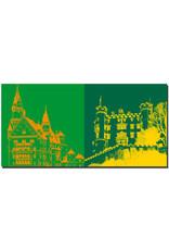 ART-DOMINO® BY SABINE WELZ Neuschwanstein - Schloss Neuschwanstein + Schloss Hohenschwangau