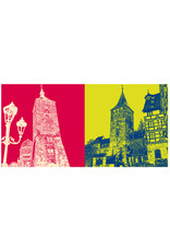 ART-DOMINO® BY SABINE WELZ Nürnberg - Weisser Turm + Beim Tiergärtnertor