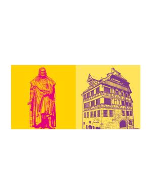 ART-DOMINO® BY SABINE WELZ Nürnberg - Albrecht-Dürer + Albrecht-Dürer-Haus