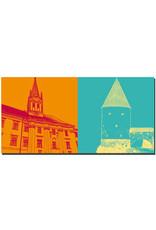 ART-DOMINO® BY SABINE WELZ Passau - Uni St. Nikola + Schaiblingsturm