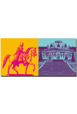 ART-DOMINO® BY SABINE WELZ Potsdam - Alter Fritz + Schloss Sanssouci