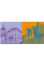 ART-DOMINO® BY SABINE WELZ Potsdam - Knobelsdorffhaus + Hollandhäuser
