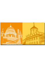 ART-DOMINO® BY SABINE WELZ Potsdam - Nicolaikirche + Knobelsdorffhaus