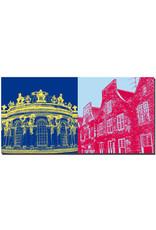 ART-DOMINO® BY SABINE WELZ Potsdam - Schloss Sanssouci + Holländerviertel