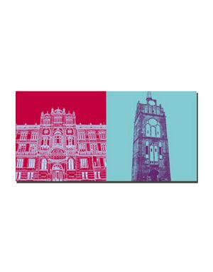 ART-DOMINO® BY SABINE WELZ Rostock - Uni + Kröpeliner Tor