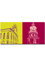 ART-DOMINO® BY SABINE WELZ Salzburg - Rathaus + Glockenspiel/Stadtmuseum
