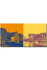ART-DOMINO® BY SABINE WELZ Stade - Am Hansehafen + Stadthafen Stade