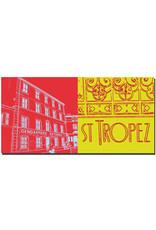 ART-DOMINO® BY SABINE WELZ Saint Tropez - Gendarmerie Nationale + Schriftzug Saint Tropez