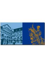 ART-DOMINO® BY SABINE WELZ Stuttgart - Altes Schloss Innenhof + Reiterdenkmal
