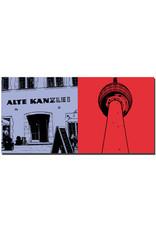 ART-DOMINO® BY SABINE WELZ Stuttgart - Alte Kanzlei + Fernsehturm
